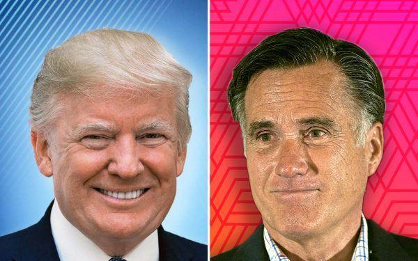 Donald-Trump-and-Mitt-Romney