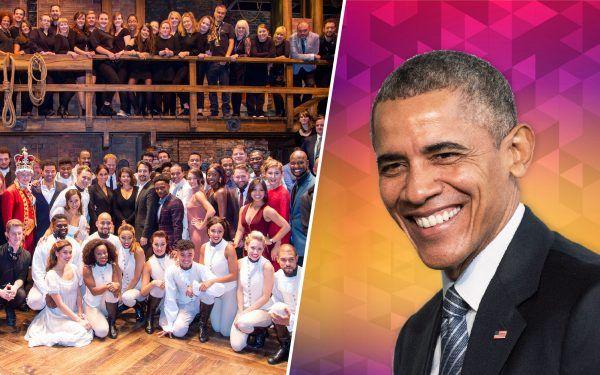 Cast-of-Hamilton-and-Barack-Obama