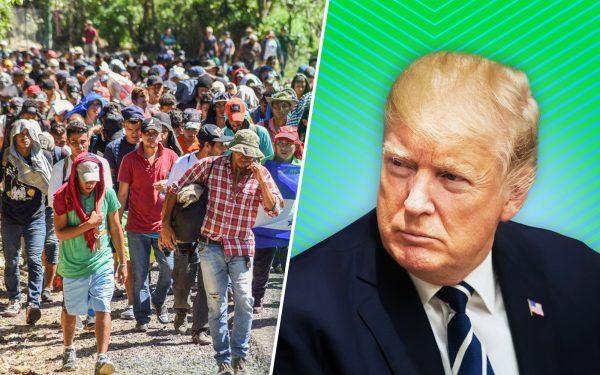 Migrants-and-Donald-Trump