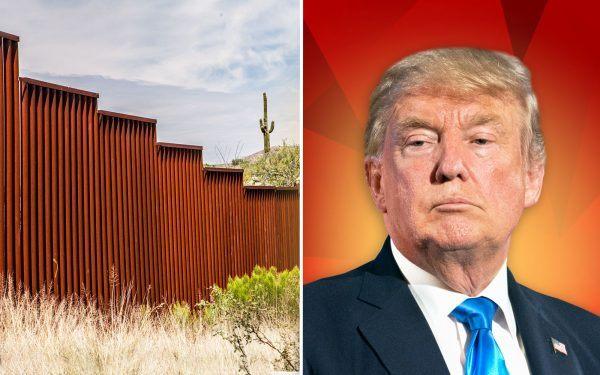Border-Wall-and-Donald-Trump
