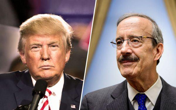 Donald-Trump-and-Eliot-Engel