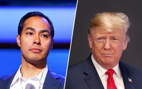Julian-Castro-and-Donald-Trump