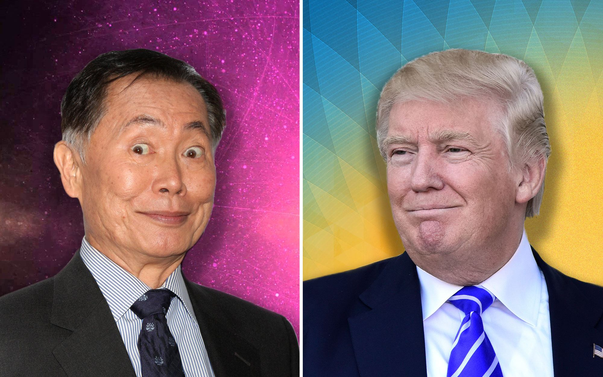 George Takei Declares 'National Trauma' After White House Serves Fast Food