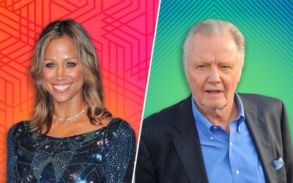 Jon Voight and Stacey Dash
