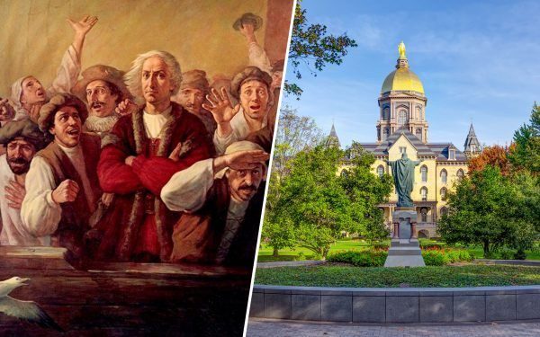 Christopher Columbus and Notre Dame University
