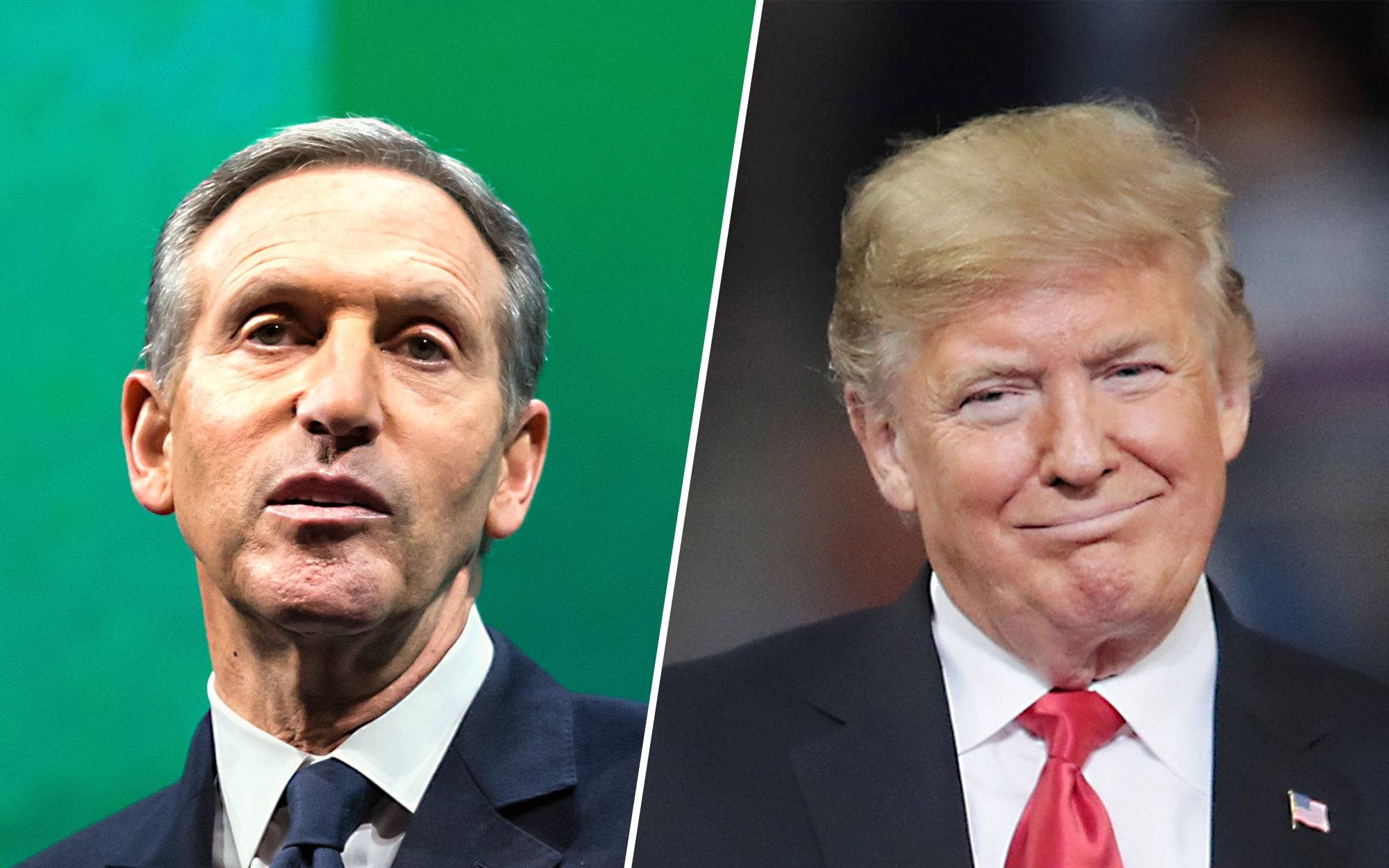Howard Schultz Insists He'd Work with Both Parties, Says People Want Leadership They Can Trust