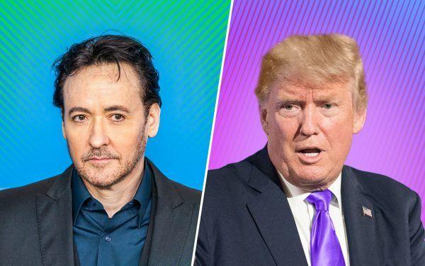 John Cusack and Donald Trump