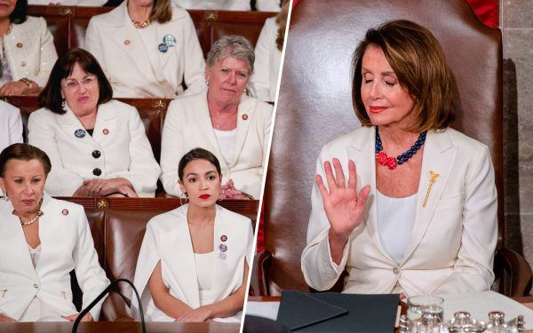 Nancy Pelosi and the 'White Suit Crew'