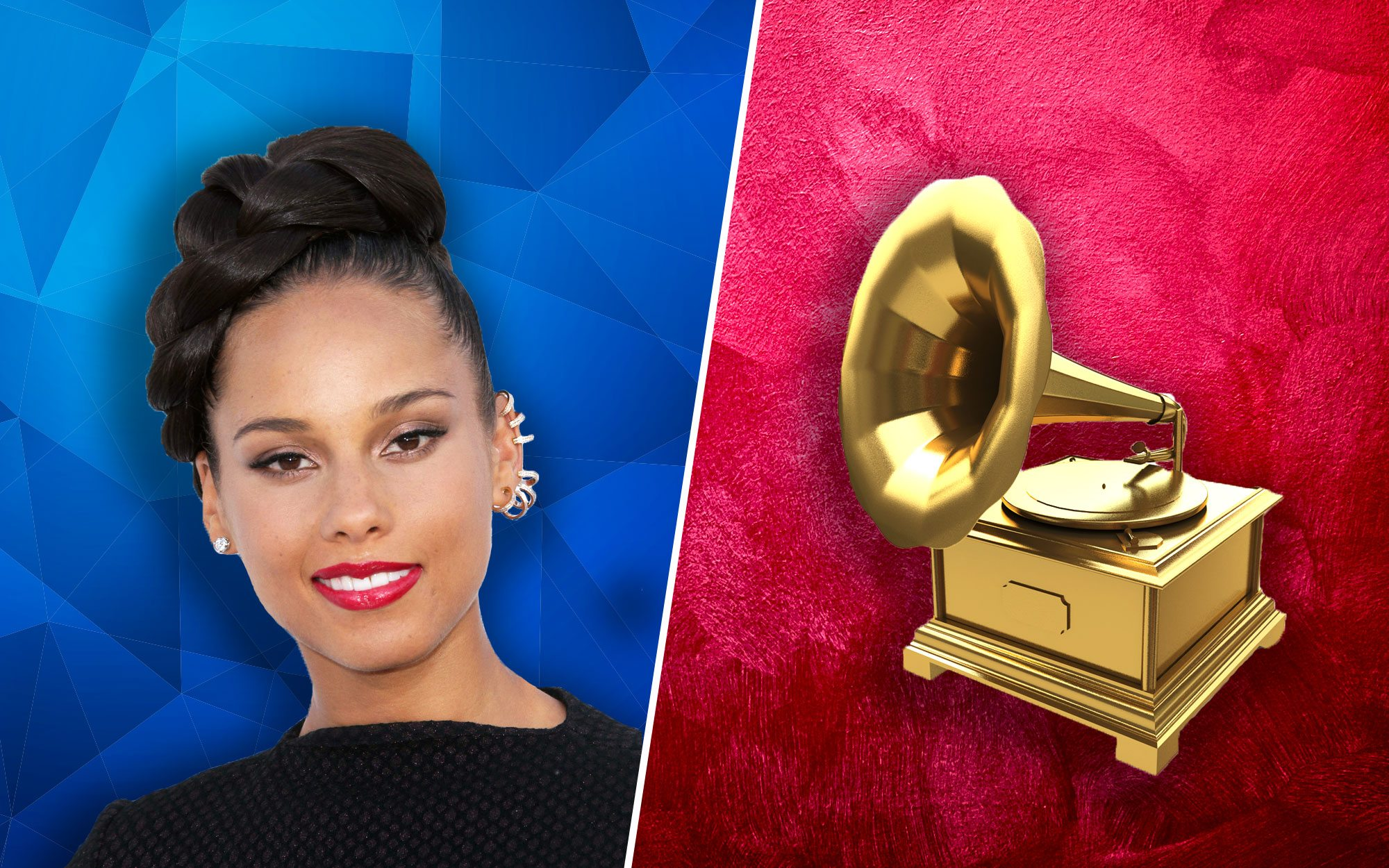Alicia Keys at the Grammys: Brings Out Michelle Obama in Surprise Appearance