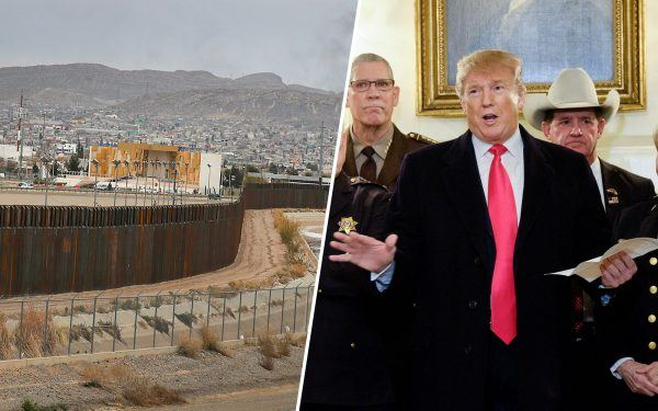 Border Wall and Donald Trump