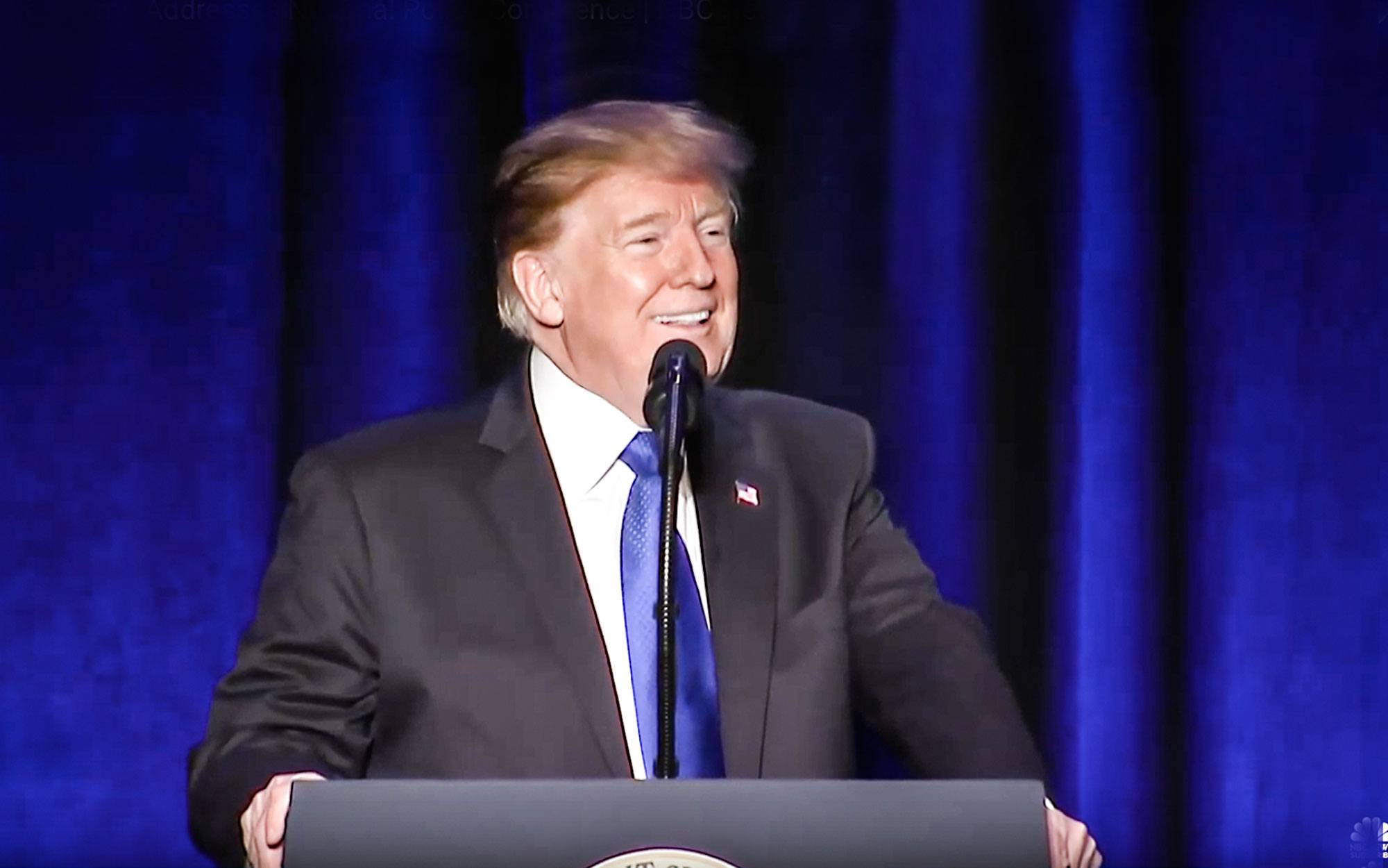 Trump Surprised Bride and Groom at Wedding as Attendees Broke into Chants of 'USA!'