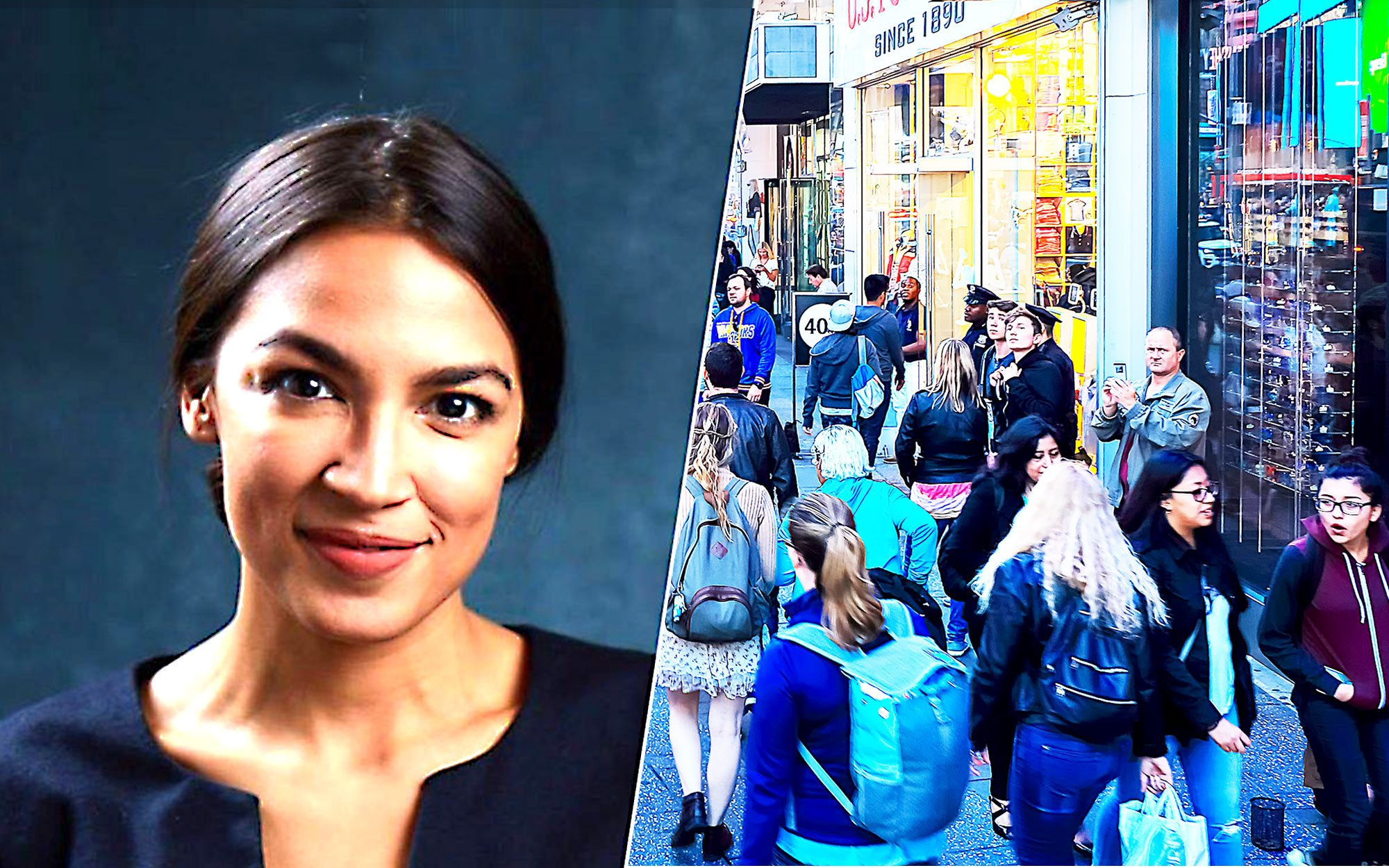 Ocasio-Cortez Uses Expensive Croissants to Call for a Fair Minimum Wage