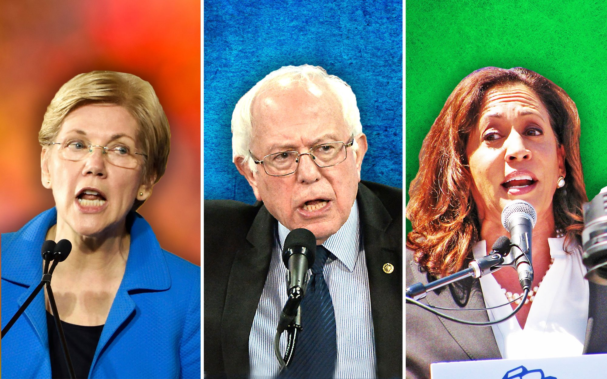 Democrats Compete to Outdo Each Other in the 'Radicalization Olympics'