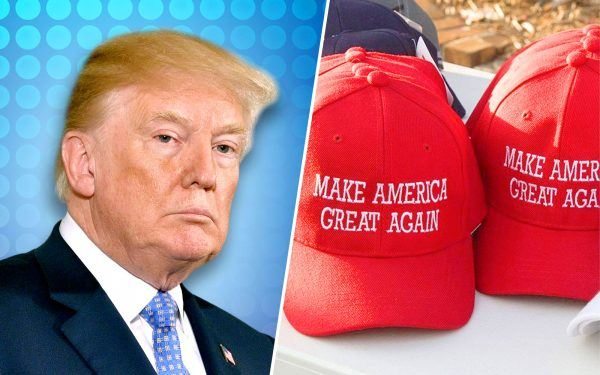 Donald Trump and MAGA Hats