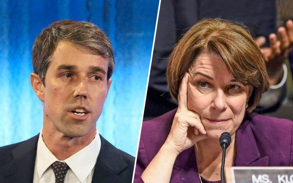 Amy Klobuchar and Beto O'Rourke