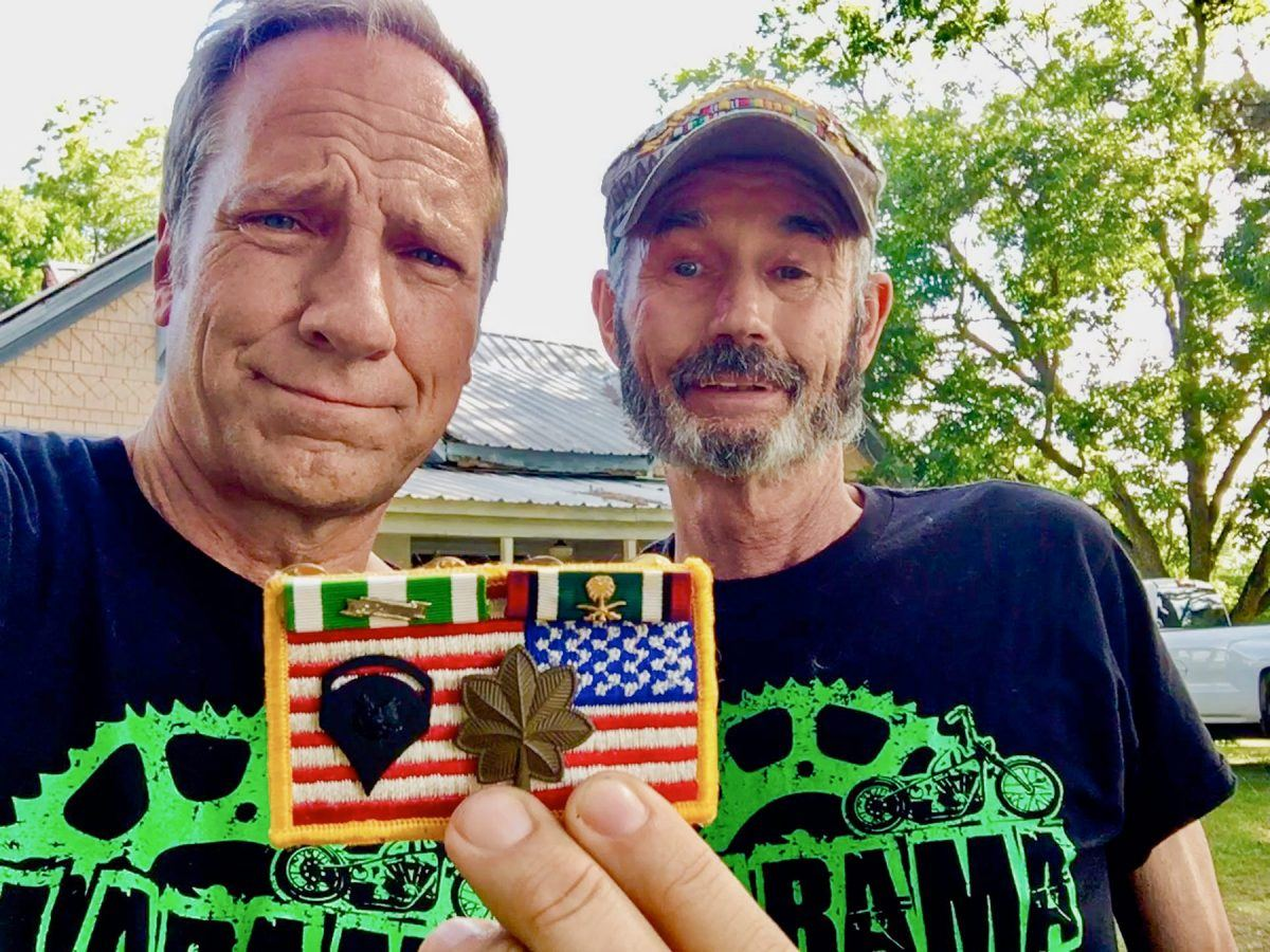 "Mike Rowe and Gregory ""Doc"" Dubay"