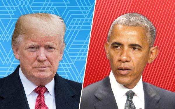 Trump + Obama