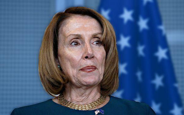 Worried Nancy Pelosi
