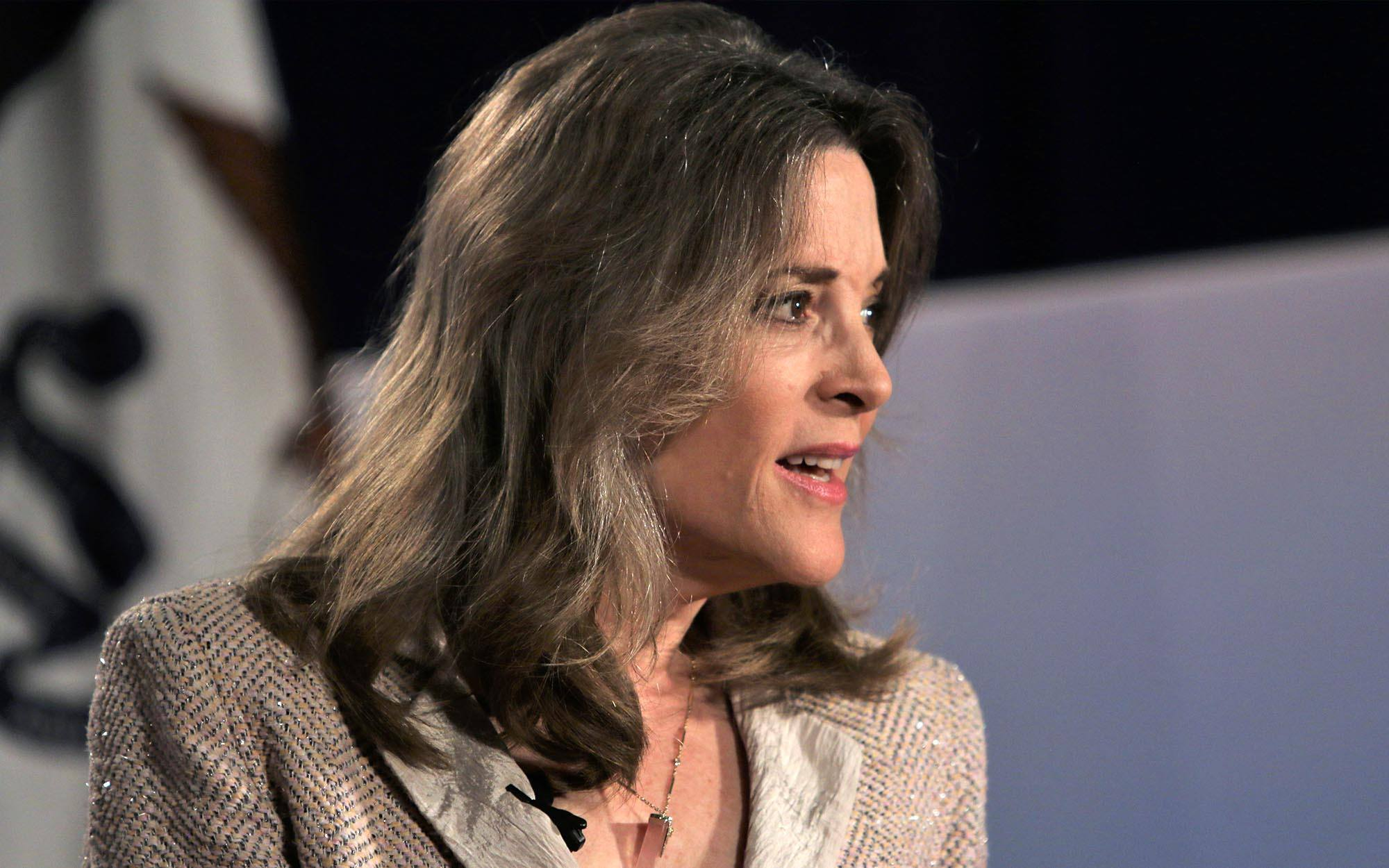 Marianne Williamson Vows to Remove Andrew Jackson's Portrait if She's Elected President