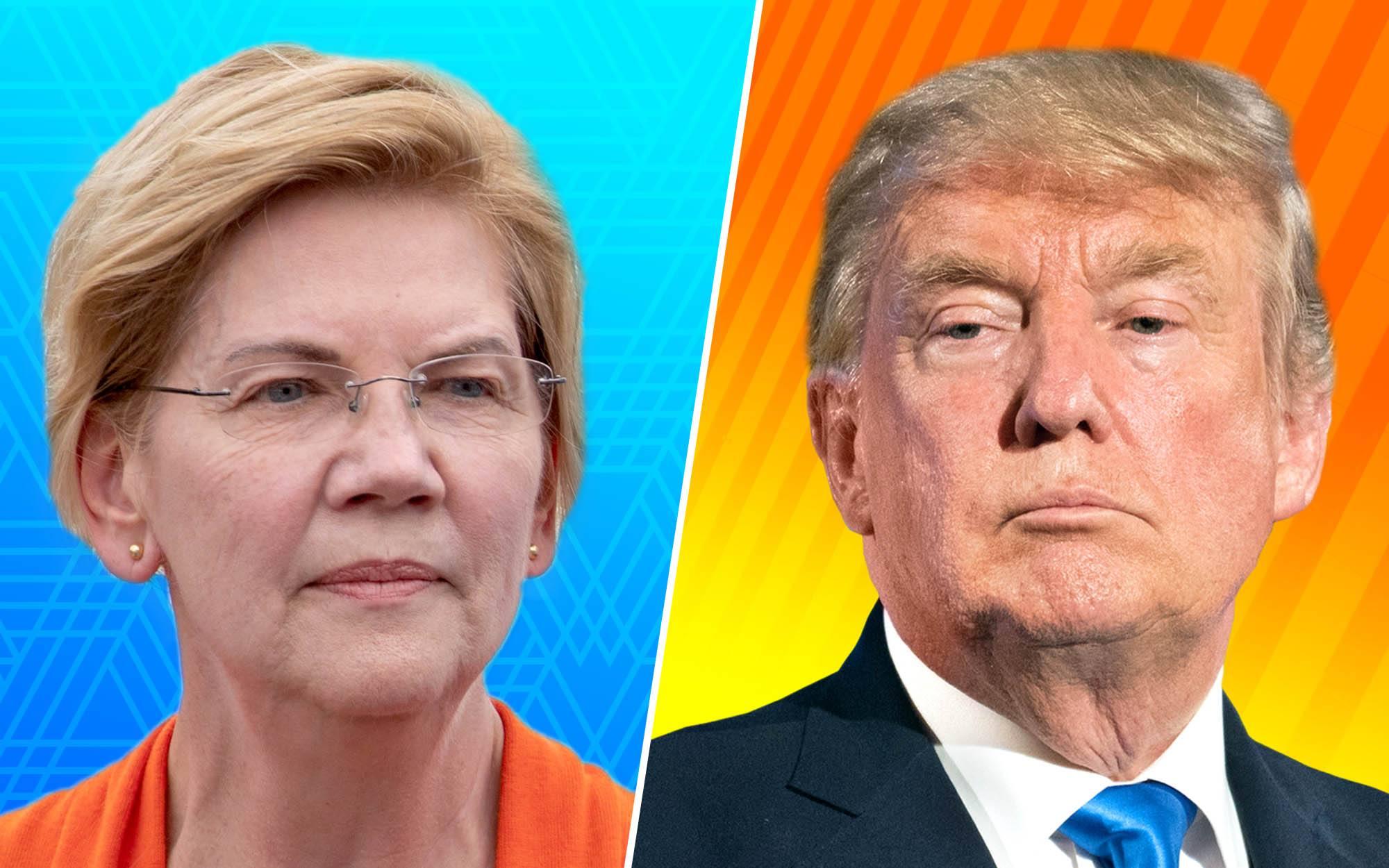 Media Melt Over Elizabeth Warren's Selfie Line, but Where Is Praise for President Trump's Handshake for Every Military Graduate?