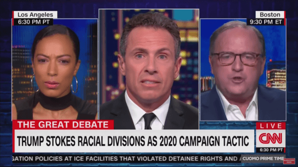 Angela Rye, Chris Cuomo, Patrick Griffin