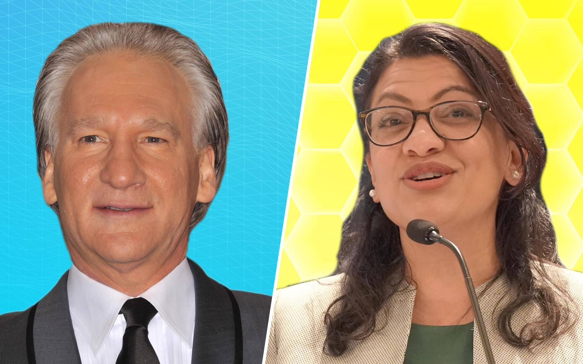 HBO's Bill Maher Fires Back at Democrat Rashida Tlaib Over Her Call for Boycott of His Show