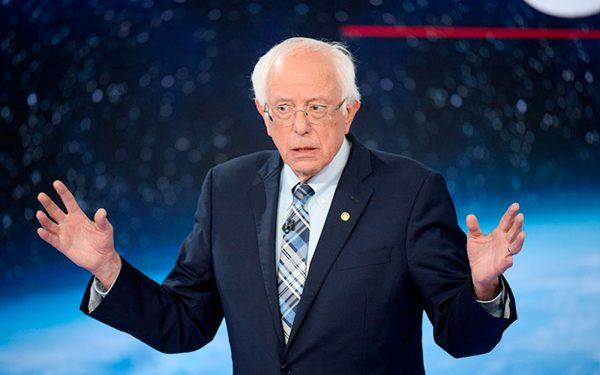 CNN Democratic Presidential Town Hall / The Climate Crisis / Bernie Sanders