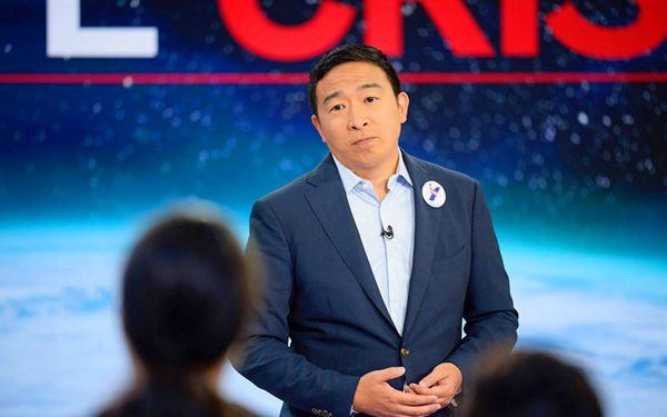 CNN Democratic Presidential Town Hall / The Climate Crisis / Andrew Yang