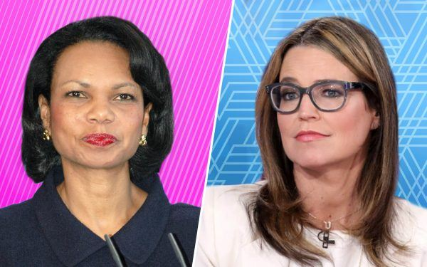 Condoleezza Rice + Savannah Guthrie