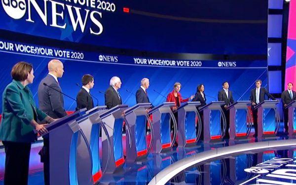 2019 Democratic Debate in Houston