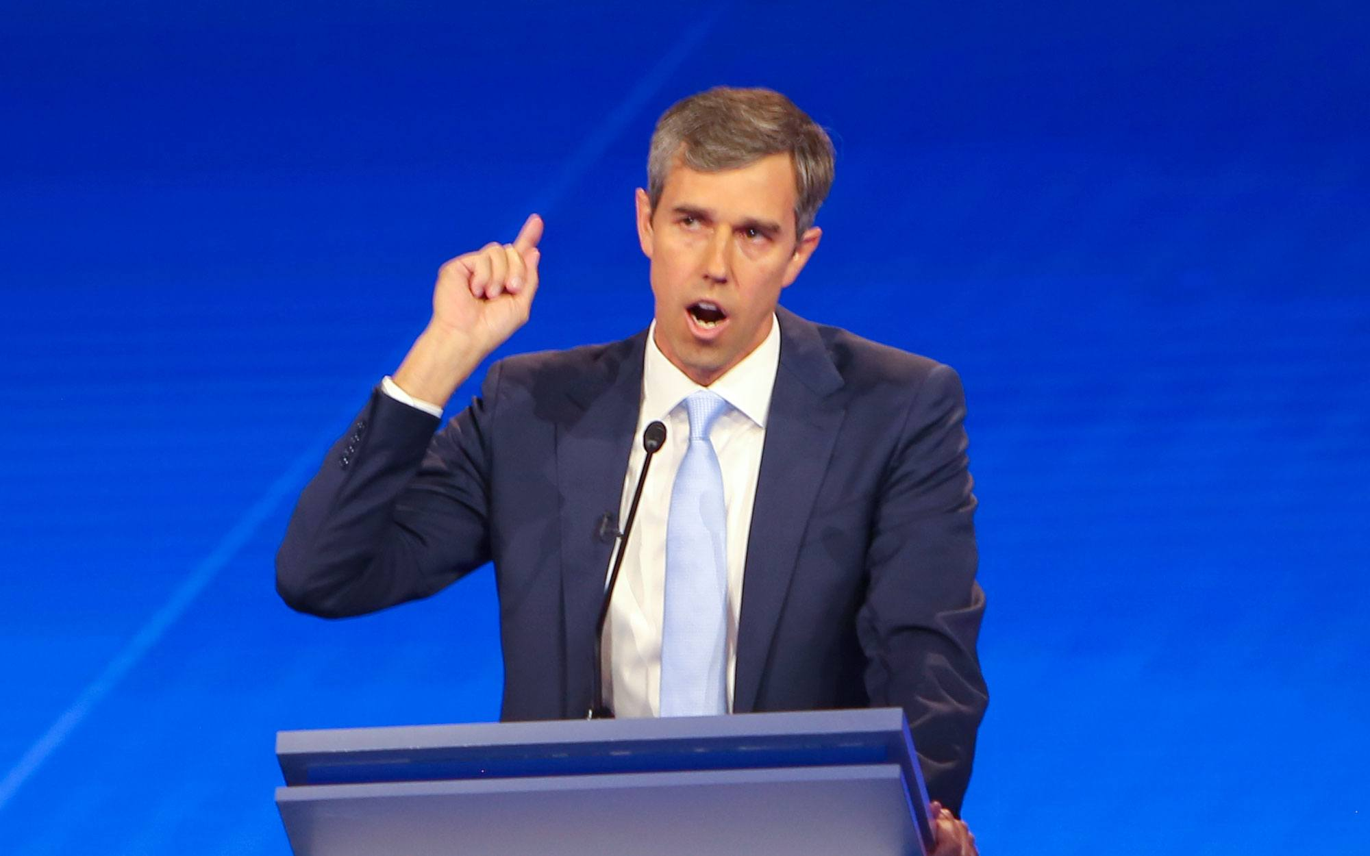 Beto O'Rourke Would Not Just Take Guns — He'd Tear Down Walls, Too
