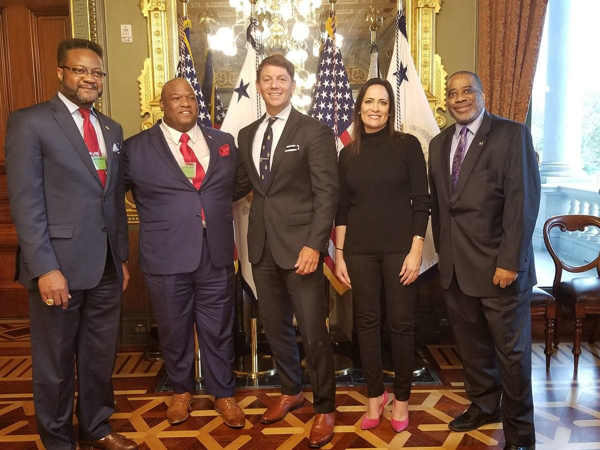 White House Meets with Black Press