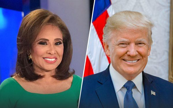 Judge Jeanine Pirro and President Donald J. Trump