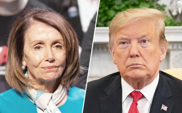 Donald Trump + Nancy Pelosi