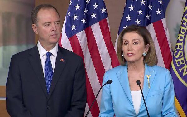 Adam Schiff + Nancy Pelosi