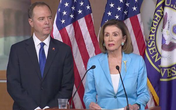 Adam Schiff + Nancy Pelosi