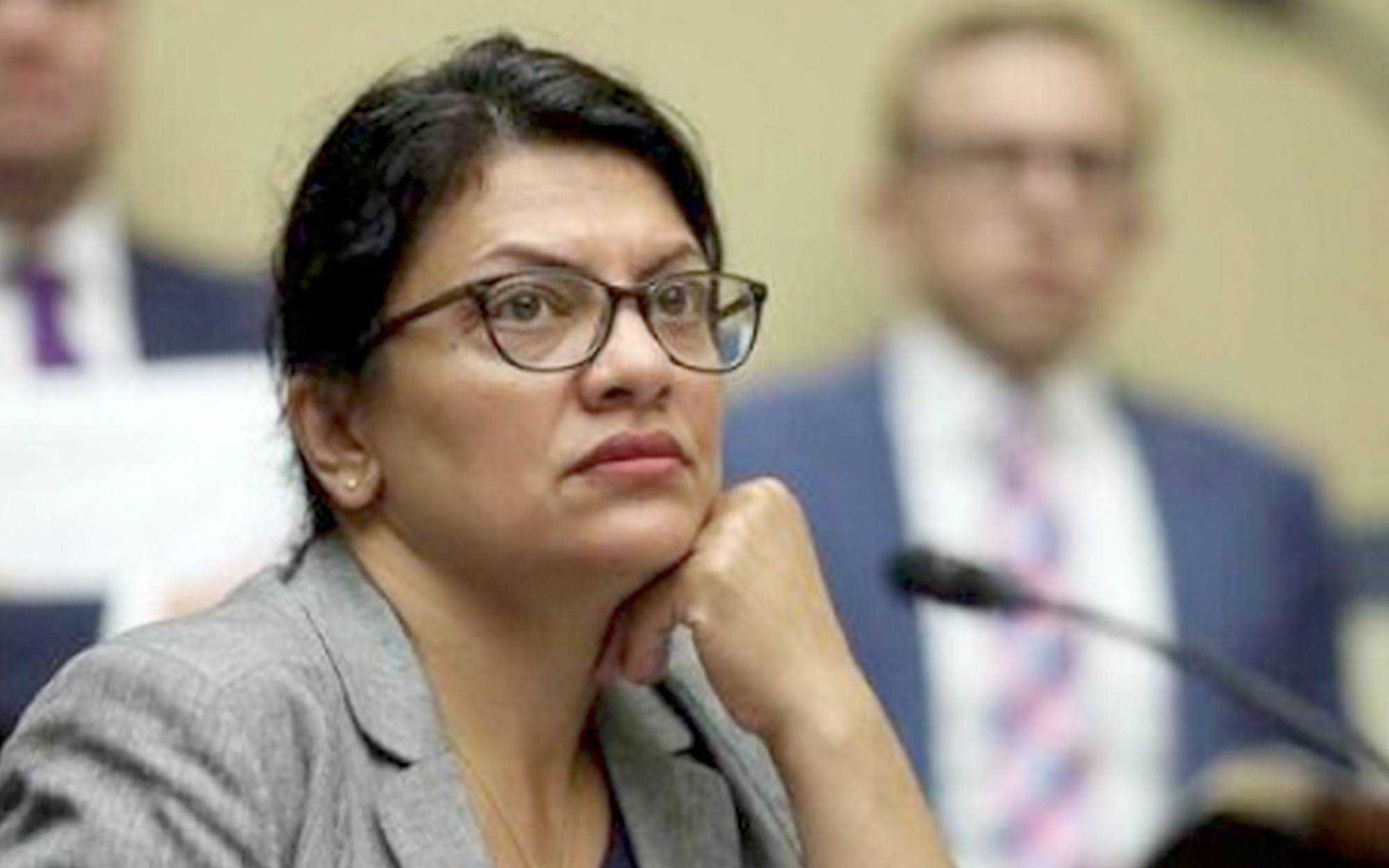 Former NY lawmaker kicked out of Rashida Tlaib's event for asking question about anti-semitism