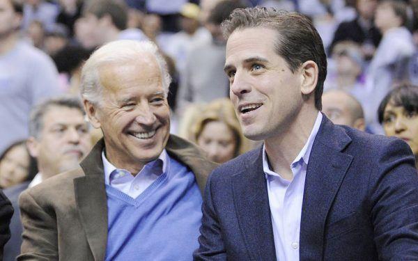 Joe + Hunter Biden