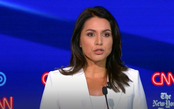 2019 Democratic Debate in Ohio, Tulsi Gabbard