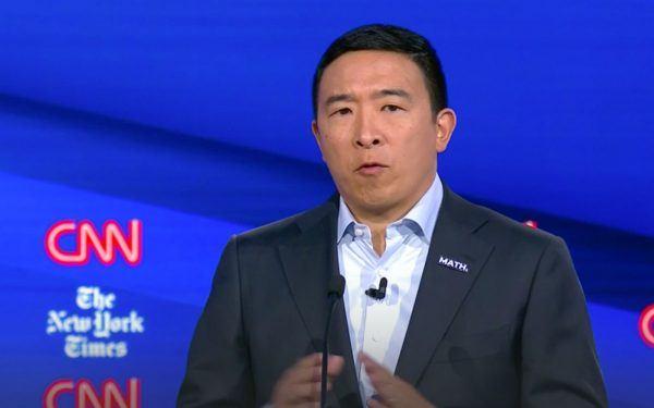 2019 Democratic Debate in Ohio, Andrew Yang
