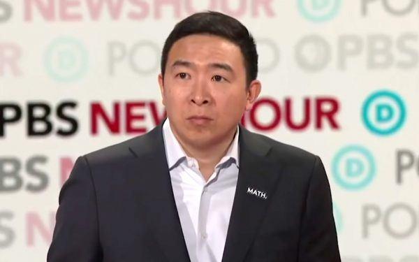 Andrew Yang_Dec 19 Dem Debate in LA