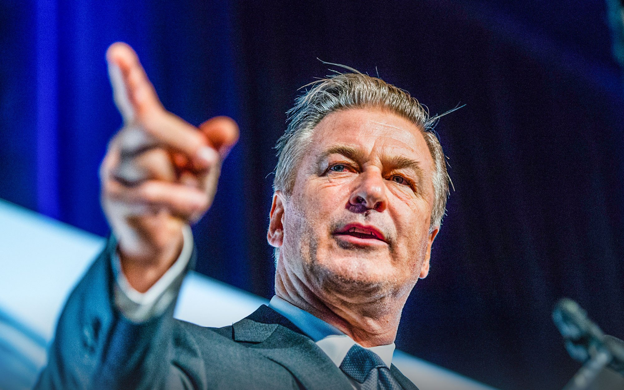 Alec Baldwin Blasts Trump Supporters, Saying They've Caused 'Colossal Destruction' to America