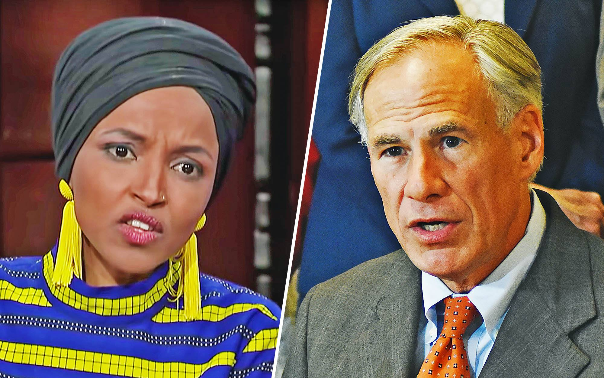 Ilhan Omar Not Pleased After Texas Opts Out of Refugee Resettlement Plan
