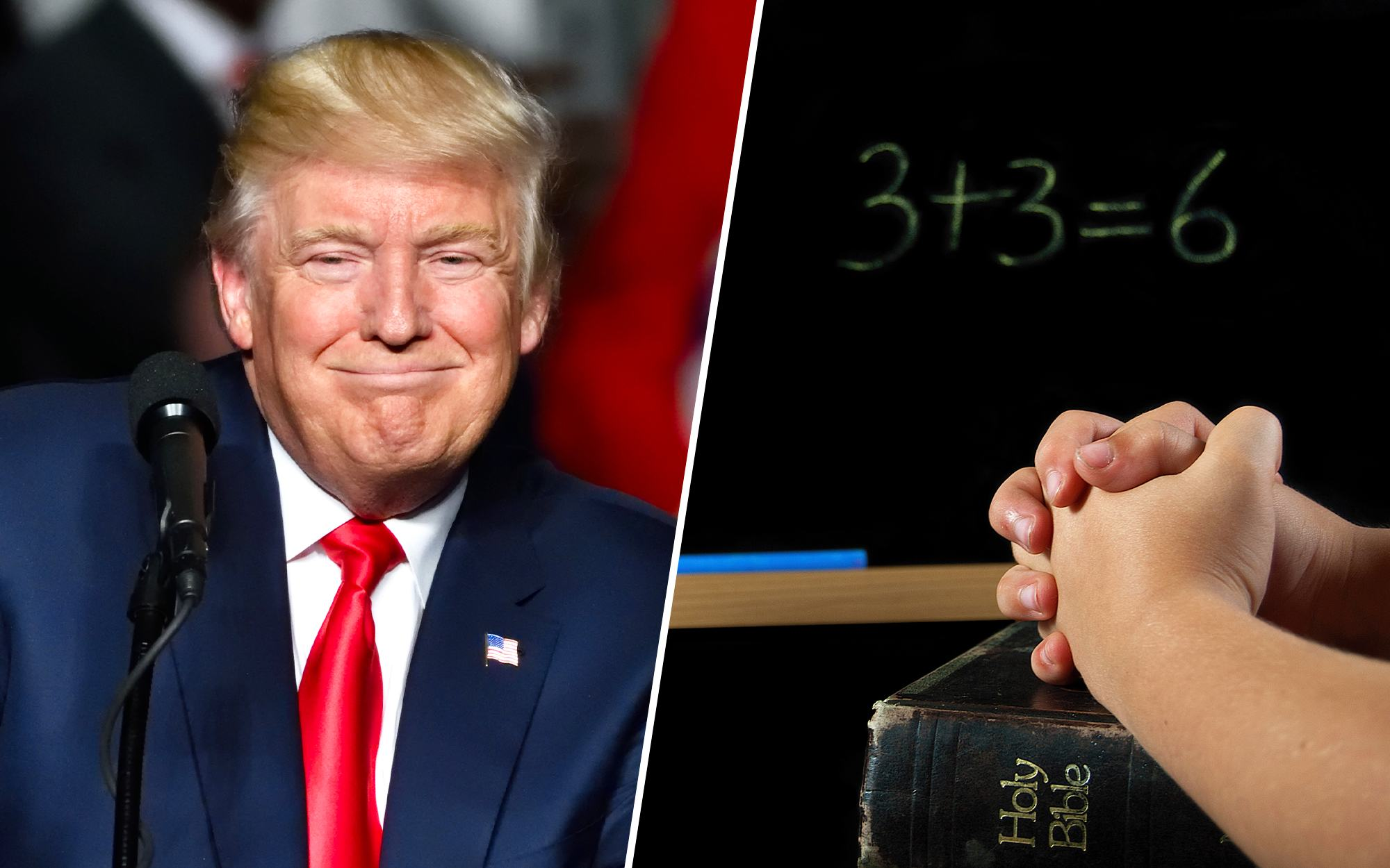 Trump Makes Aggressive Protections for Prayer in Public School