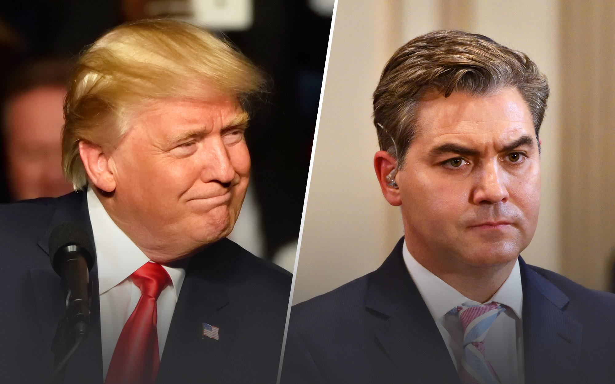 Trump Shuts Jim Acosta Down in the Oval Office