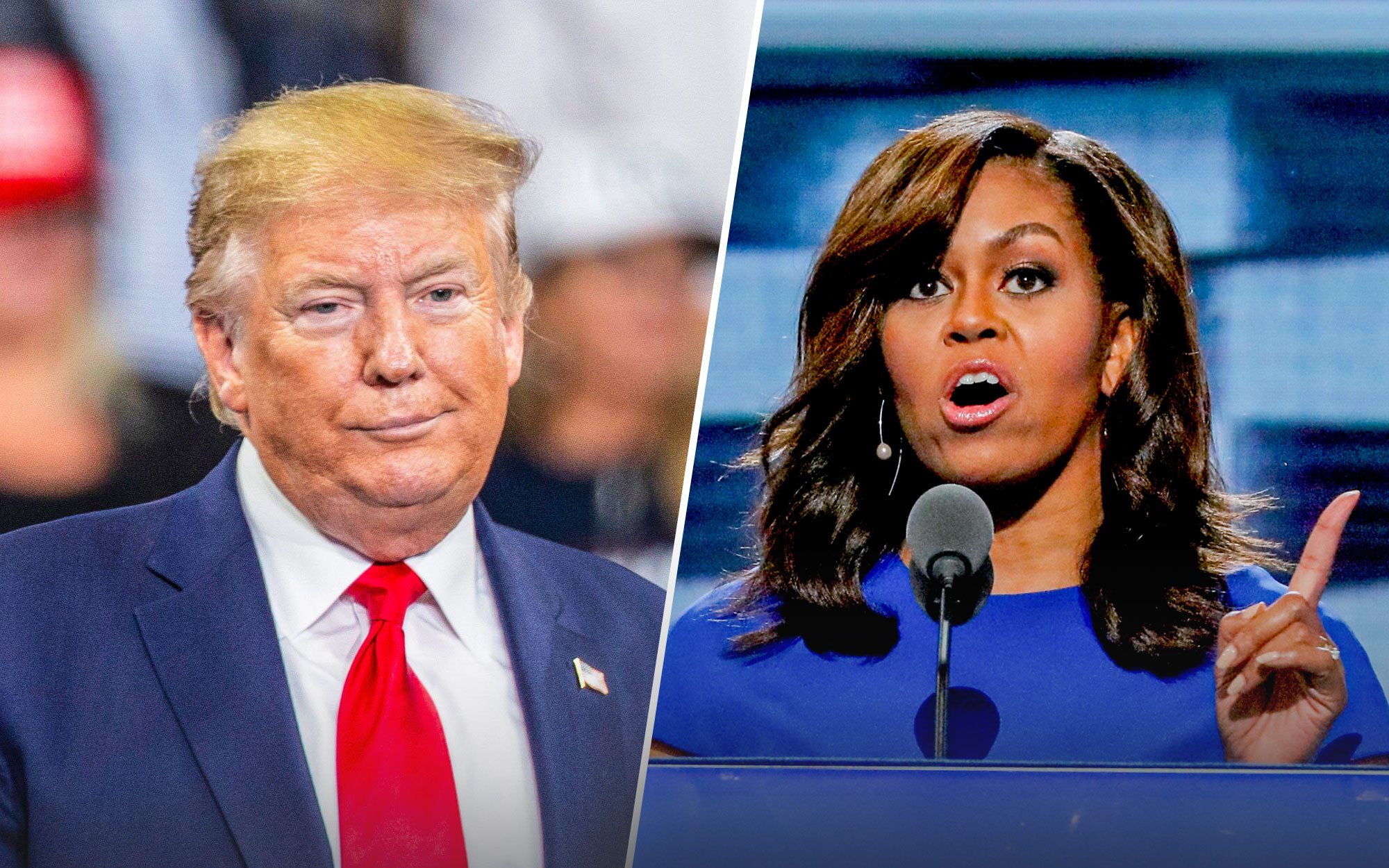 Trump Brutally Humiliates Michelle Obama on Her Birthday Over Her School Lunch Program
