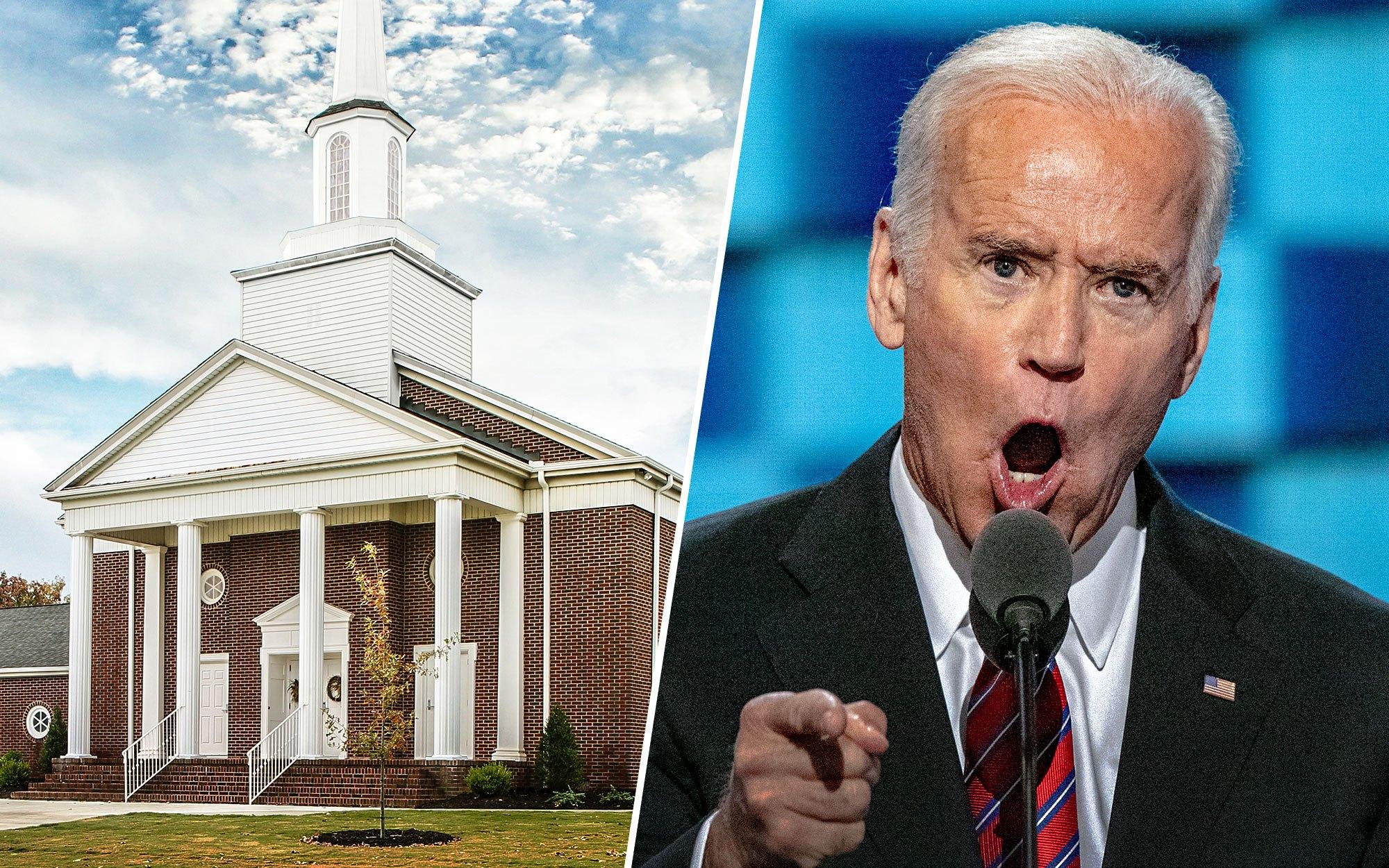 Biden Preaches to Black Church, Compares Trump to KKK Once Again