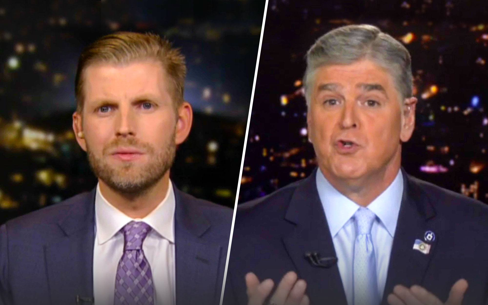 Eric Trump Says Dems 'Detest' the President 'Because He's Getting Results They Could Never Get'