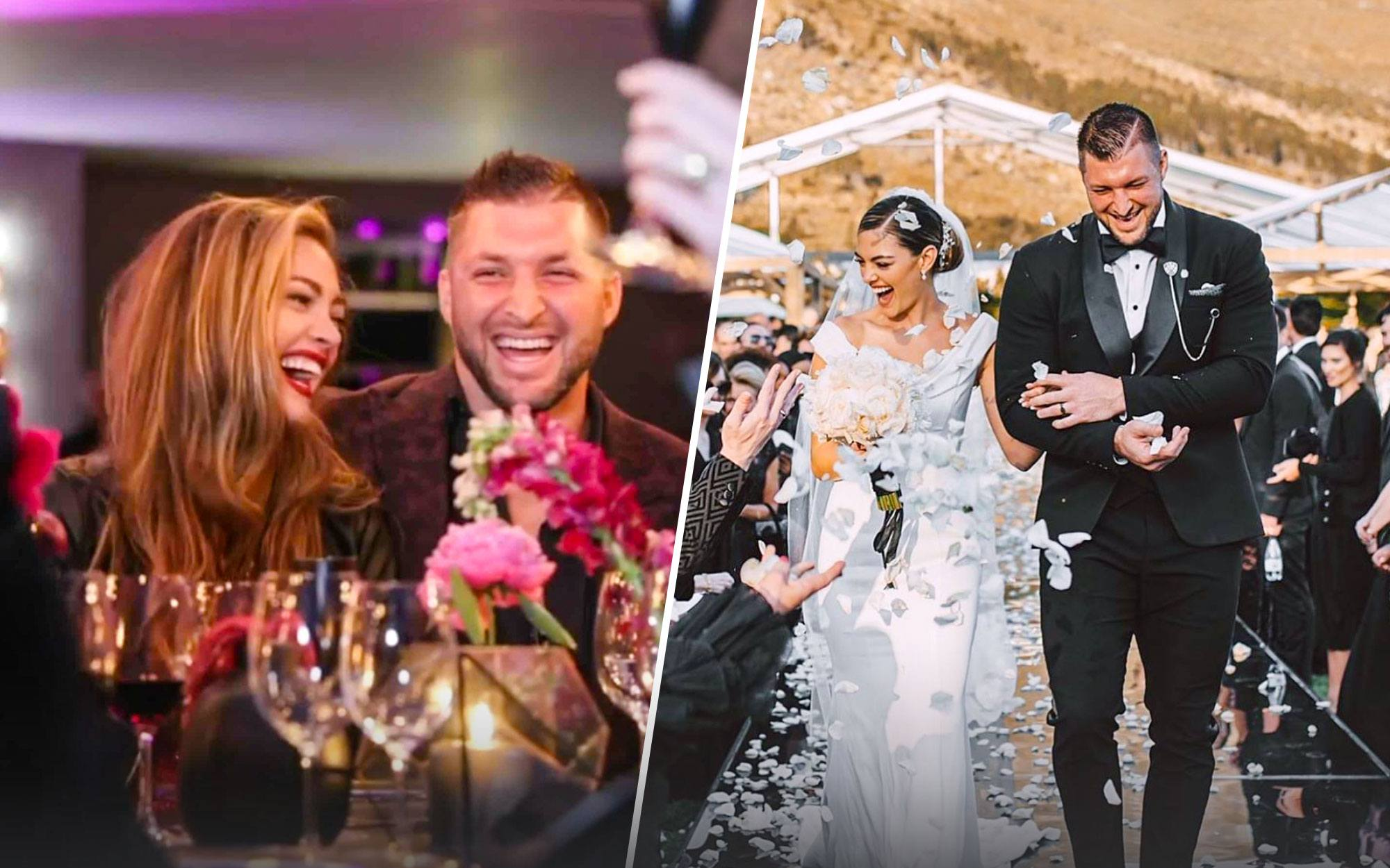 Tim Tebow Officially Tied the Knot and Their Wedding Photos Are Stunning