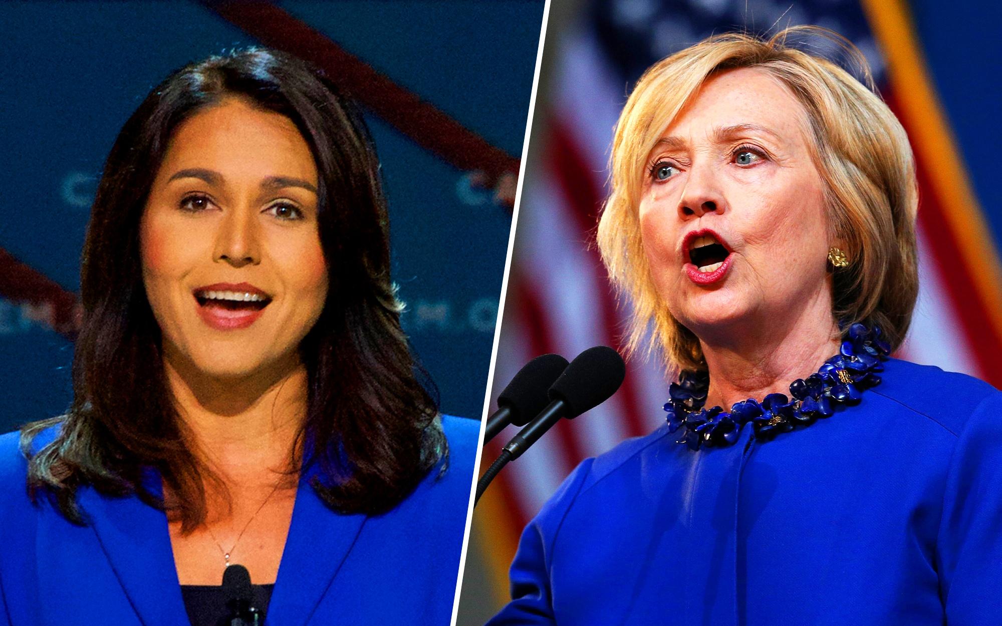 Tulsi Gabbard Announces $50M Lawsuit Against Hillary Clinton